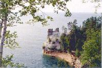 Miners Castle, Pictured Rocks National Lakeshore  Munising, Michigan